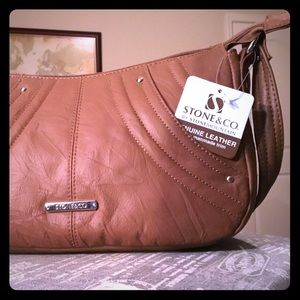 Stone & Co. Leather Bag